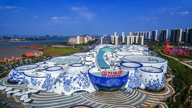 世界最大青花瓷建筑,就在江西南昌