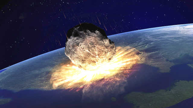 陨石以光速撞击地球,会发生什么?
