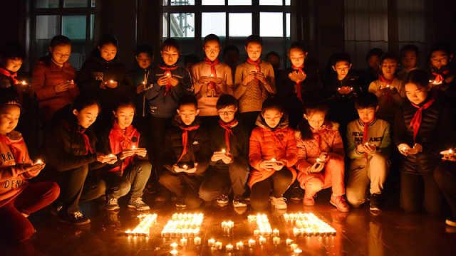 南京大屠杀公祭日各地举行纪念活动