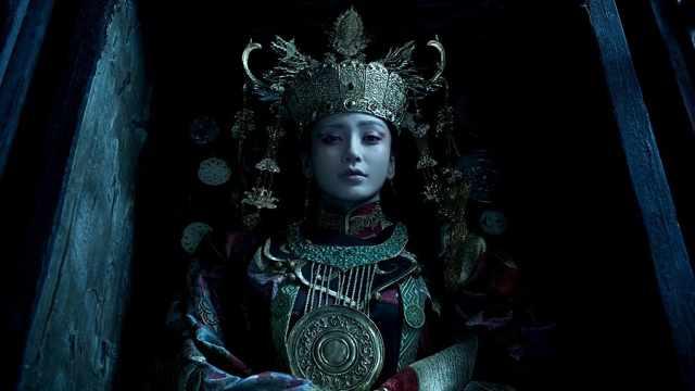 电影寻龙诀杨颖的古墓原型在内蒙古