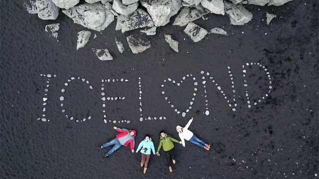 冰川、星空和极光,冰岛绝美的风光
