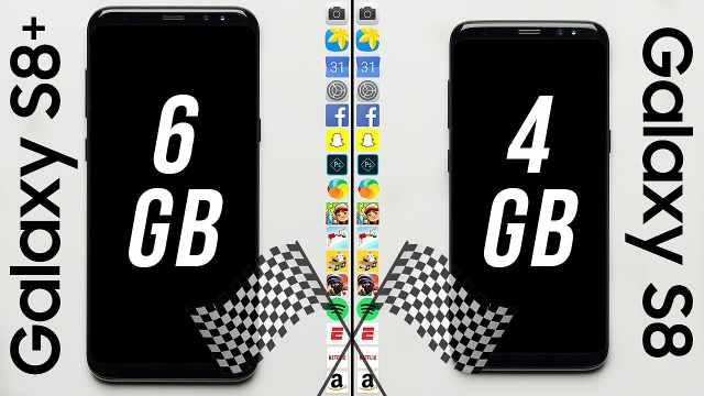 内存为4GB和6GB的手机,差别多大?