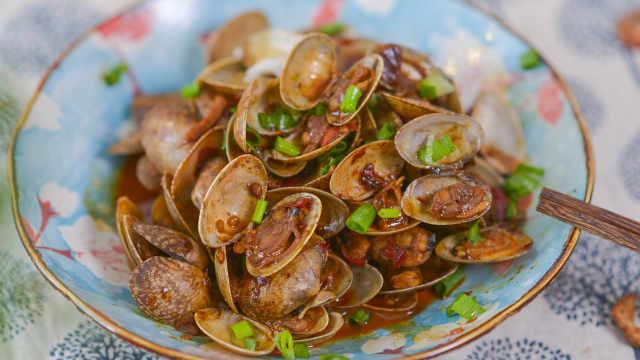 蛤蜊最好吃的做法,没有之一