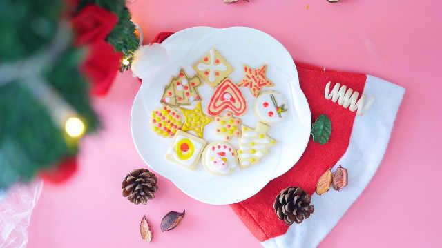 糖霜饼干,圣诞节礼物非它不可!