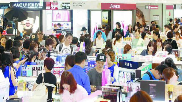 为什么中国人爱去韩国购物?