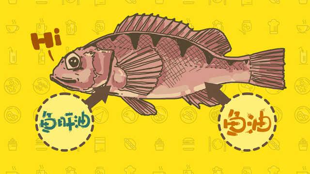 把鱼肝油当鱼油吃?小心吃出黄脸婆