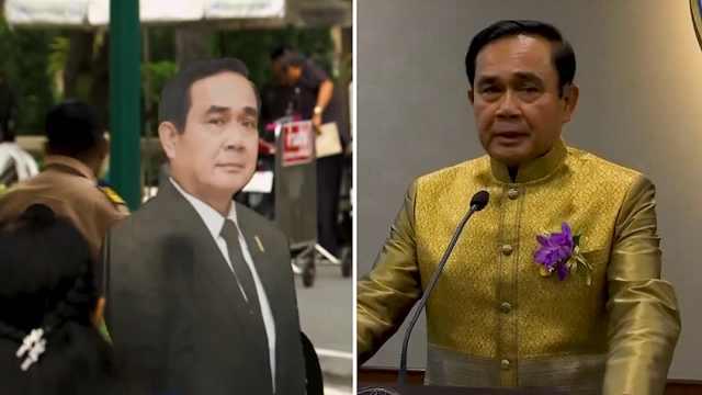 泰国总理出奇招,让记者对纸板提问