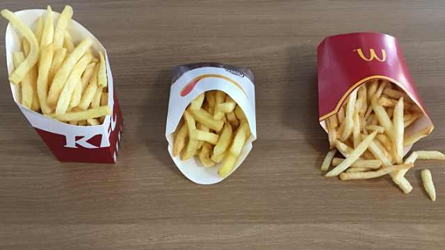 哪家快餐店的薯条最好吃?