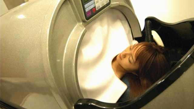 日本发明自动洗头机