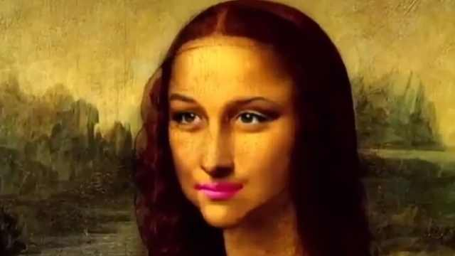 现代审美的蒙娜丽莎?好一张蛇精脸