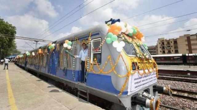 印度造80公里最快火车称已超中国?