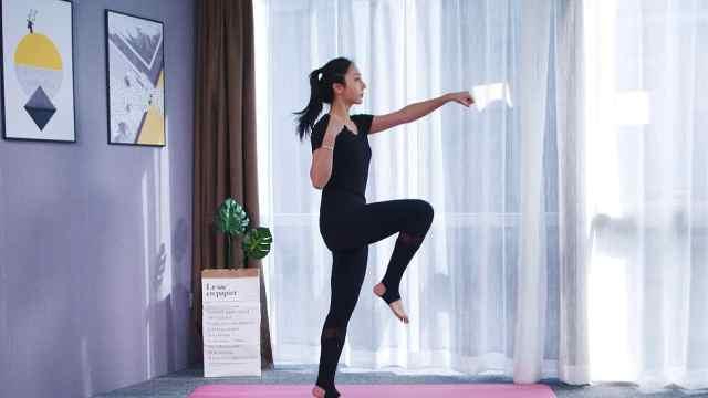 每天坚持4个动作,有效瘦腿+瘦肚子
