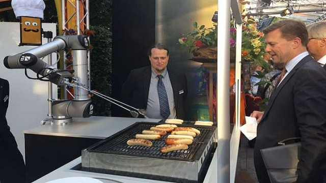 烧烤机器人来了