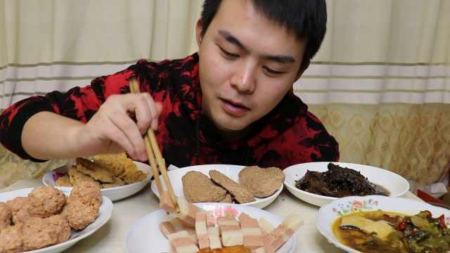 试吃最健康的佛系年夜饭全素年夜饭