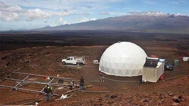 3D打印技术能在火星上造房子?