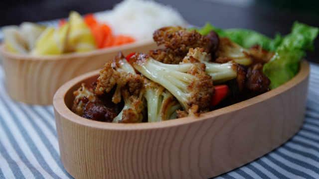米饭杀手!超好味的香辣干锅花菜