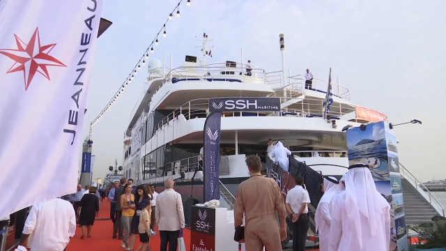 迪拜游艇展,深深感受到自己的贫穷