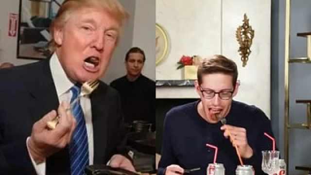 特朗普每天吃什么?一般人真学不来