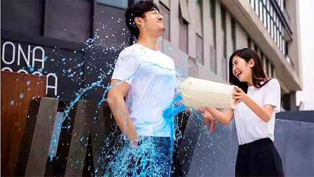 黑科技白T恤,防水防污