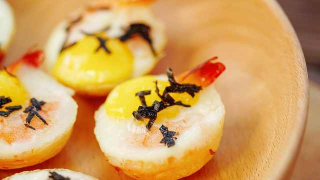 台湾小吃虾扯蛋,在家做这么简单