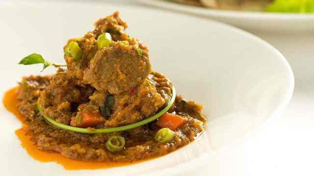 印度的待客硬菜咖喱羊肉的做法