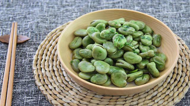 葱油蚕豆,又香又嫩软绵绵