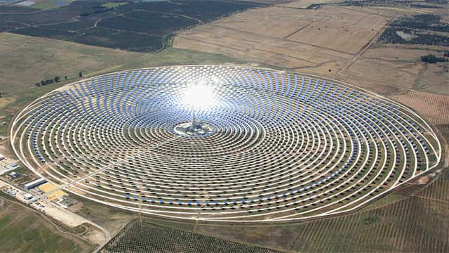 敦煌太阳能项目,亚洲最大全球第二