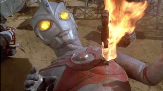 火焰奥特曼VS海洋大怪兽!