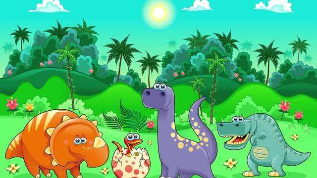创意美术课——大恐龙