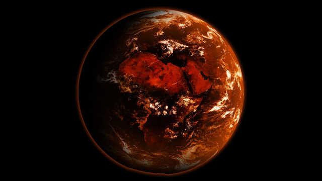 地球上的火山一起喷发人类会怎么样