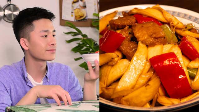晚春馈赠的食材,好吃的茭白炒肉