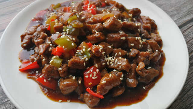 超下饭的双椒牛肉粒