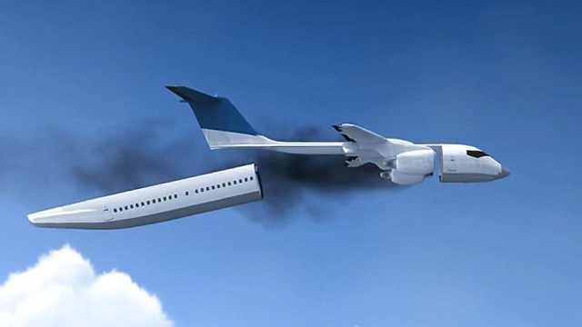 可分离式客舱,坠机时能安全降落