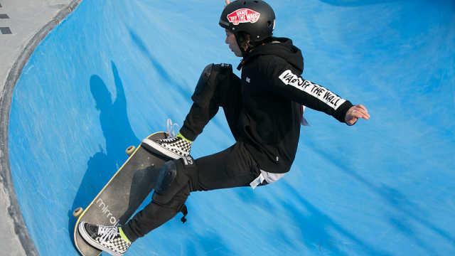 年轻就要酷!滑板,玩的就是刺激!