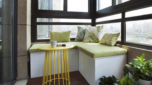 几种设计方案让你家阳台更美观有用
