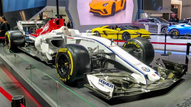 解析阿尔法·罗密欧 F1赛车