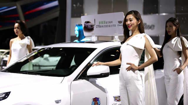青岛国际车展 香车美女都在这里