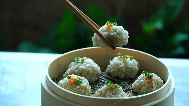 糯米肉丸的家常做法,营养又美味