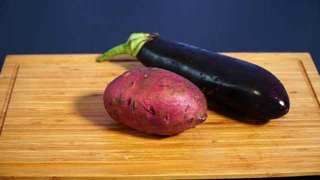 红薯拌茄子,这种做法还是第一次见