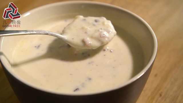 轻松学做奶油蘑菇汤,秒变大厨