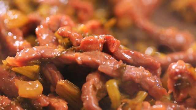 牛肉这么炒,爽滑鲜香、风味绝妙!