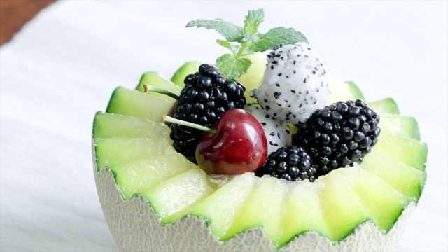水果神器制作超满足水果盅