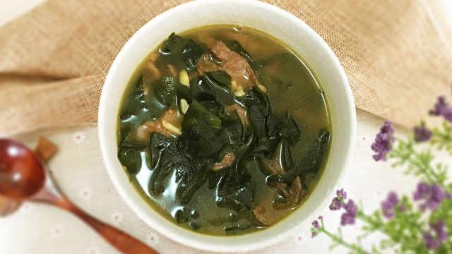 海带汤,健康又美容的汤品