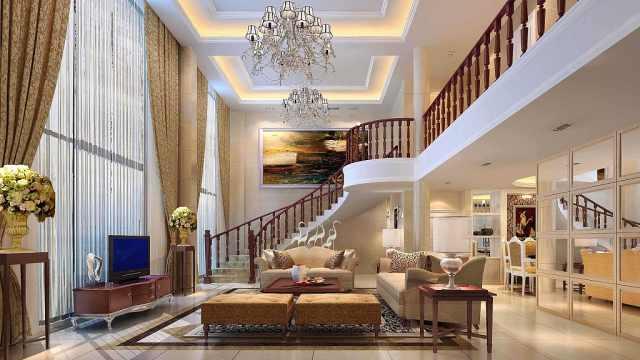 花3000万买房,装修得像豪华酒店