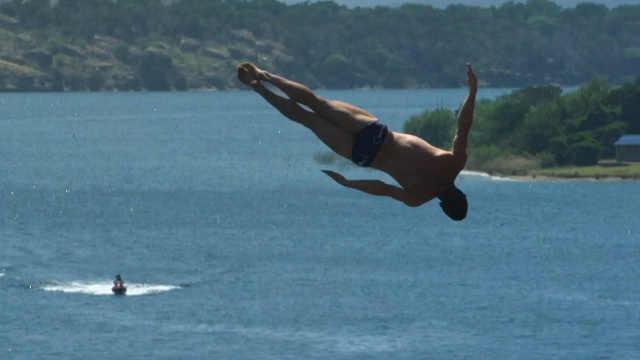 期待!悬崖跳水有望成为奥运项目