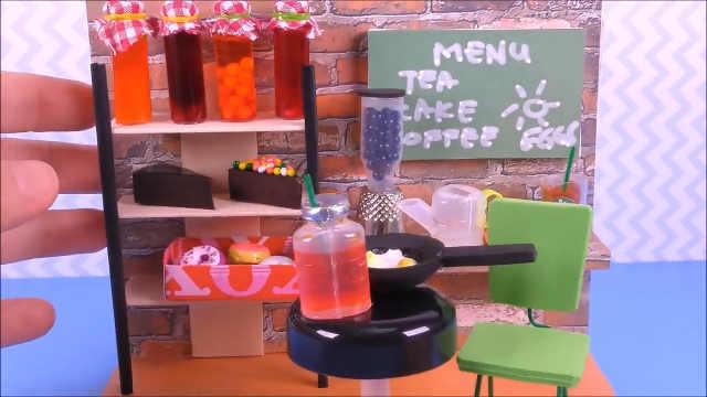迷你娃娃屋,一家售卖甜品的咖啡店
