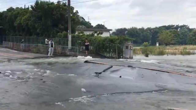 日本大阪6.1级地震造成至少4人死亡