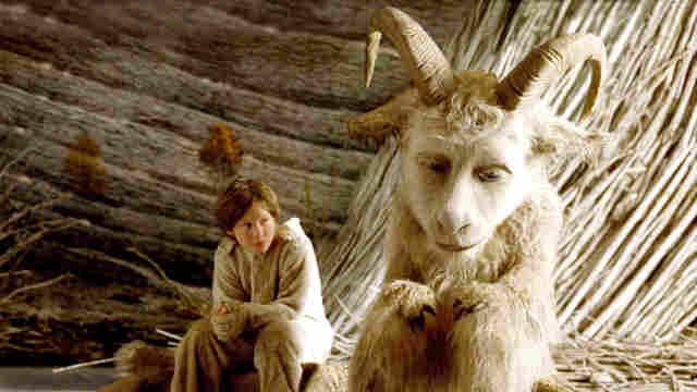 小男孩离家出走后,遇到巨大山羊怪
