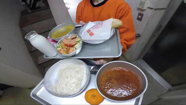 探秘日本学校午餐,美味且营养均衡