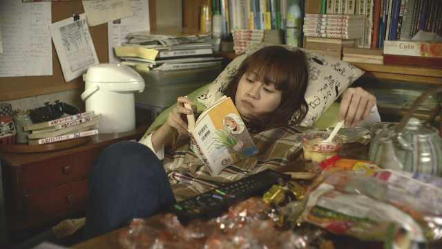 日本女子毕业后过着颓废的生活